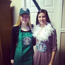 starbucks barista and drink costumes bestfriend pinterest