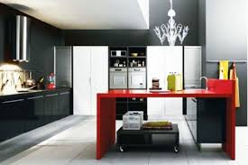 Red And Black Kitchen Ideas Black And Red Kitchen