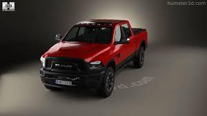 Dodge Ram Power Wagon - 360 view of dodge ram power wagon 2017 3d model hum3d store