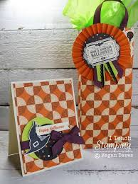 quick and cute halloween treat bag ideas i teach stamping