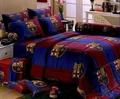 Amazon Com Comforter Bed Set amazon com barcelona football club bedding in bag set twin size