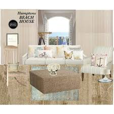 Decor Interior Design Inc by Hamptons Beach House By Aimee Corrado On Polyvore Featuring