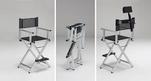Aluminum Directors Chair Bar Height by The Original Makeup Artist Chair By Canoni