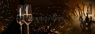 chagne bottle fireworks new year fireworks with chagne stock image image of change