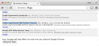 Chrome Flags Android Using Serviceworker In Chrome Today Jakearchibald Com