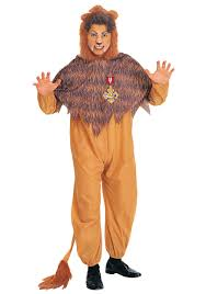 lion costume mens cowardly lion costume wizard of oz cowardly lion costumes