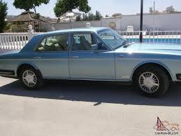 bentley cream bentley 8 limousine 1990 in stunning nordic blue with cream