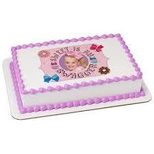 edible cake images jojo siwa edible cake and cupcake toppers sugarprintcess