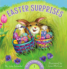 easter bunny book easter surprises book by lola schaefer mccue official