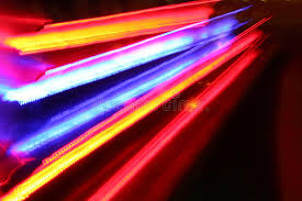 traffic lights in motion blur royalty free stock photo image