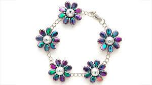 bead flower bracelet images Pip bead flower bracelet facet jewelry making jpg