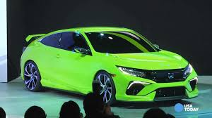 Honda Civic Usa Honda Unveils Stunning New Civic