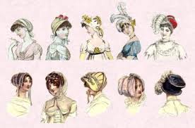 hair style of 1800 1800 accesories regency fashion history