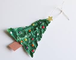 Homemade Christmas Decorations With Paper Homemade Christmas Tree Ornament Using Newspaper And Flour Buggy