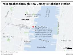New Jersey Transit Map What We Know About The Hoboken Train Crash