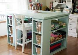 Diy Craft Desk Craft Room Desk Diy Easy Project