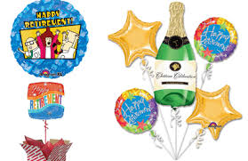 retirement balloons retirement balloon bouquets gifts delivery