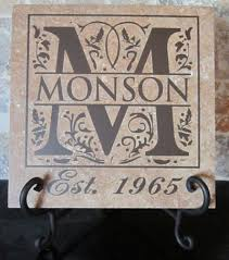 iron on monogram initials wedding anniversary gifts