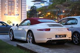 used porsche 911 singapore porsche 911 4 and 911 4s launched in singapore