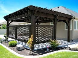 Privacy Cover For Windows Ideas Patio Ideas Privacy Panels And Matching Pergola Beautifully