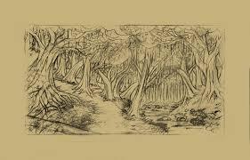 forest sketch by bleedinghitman on deviantart