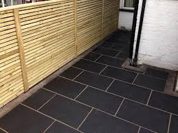 Gardenline Patio Path Cleaner Kota Black Limestone Indian Patio Paving 840x560mm Slabs 13 30m2