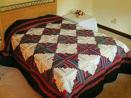 log cabin quilt exquisite made with care amish quilts from