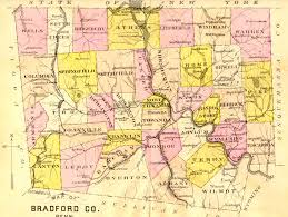 Pennsylvania Counties Map by Bradford County Landowner Resources