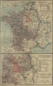 Rouen France Map by Historical Maps Of France
