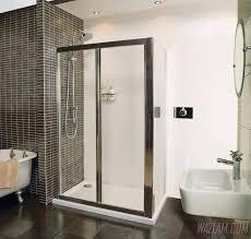 bathroom shower frameless single shower door custom sliding