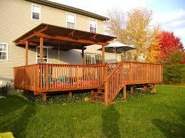 Backyard Deck Ideas Small Backyard Deck Cost Landscaping Gardening Ideas