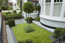 simple front garden design ideas natural walking space in small