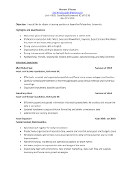 Sample Resume For Secretary by Underwriting Technician Cover Letter