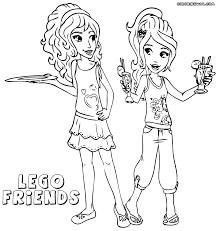 lego friends for girls coloring page free download