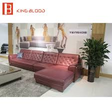 l shape 7 seater sectional floor corner wooden sofa set designs