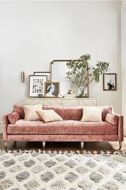 388 best home decor images on pinterest live architecture and slub velvet leonelle sofa uhm yeah can i have a pink velvet couch please