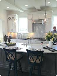 Light Fixtures Kitchen Kitchen Island Pendant Love The Gray Island With The White