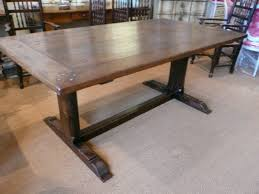 French Provincial Table 19th Century French Provincial Farmhouse Trestle Table Sold