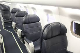 Alaska Airlines Seat Map by Review Alaska Airlines E175 First Class Travelupdate