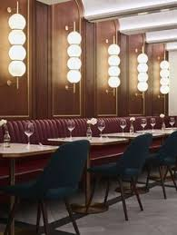 Restaurant Dining Room Design Small And Vibrant Restaurant Interior In Montreal Hospitality