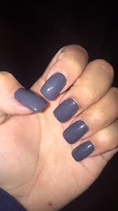 squoval grey acrylic nails diy health and beauty pinterest