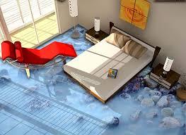sol vinyle chambre revêtement de sol 3d lino pvc vinyle chambre salle de bain cuisine