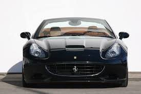 Ferrari California Black - novitec rosso ferrari california with 500hp and subtle aero and