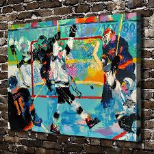 a1884 leroy neiman abstract mobilization hockey hd canvas print a1884 leroy neiman abstract mobilization hockey hd canvas print home decoration living room bedroom wall pictures art painting in painting calligraphy
