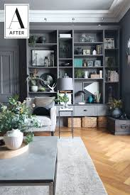 best 20 cozy living rooms ideas on pinterest cozy living dark before after a dated 70s living room gets dark dreamy