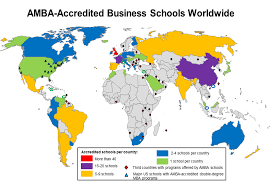 Global Map Of The World by File Amba Accredited Business Schools Global Map Png Wikimedia