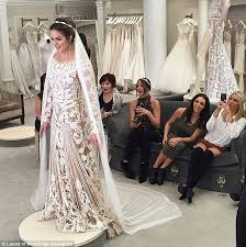 maloney wedding maloney on 15k zuhair murad wedding dress daily mail