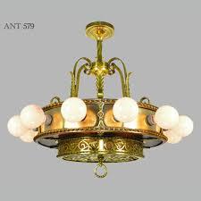 Chandelier Lights Price Antique Bare Bulb 18 Light Chandelier 1910s 1930s Ceiling