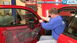 how to install replace side rear view mirror pontiac grand am 99