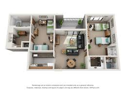 Two Bed Two Bath Apartment 2 Bed 2 Bath Apartment In State College Pa Meridian On College